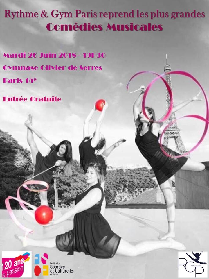 Affiche Gala Comédies musicales